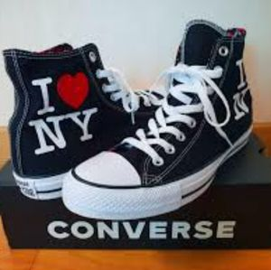 2 FOR 85 Converse I LOVE NEW YORK High Tops